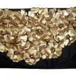 Upcycled Petal Clutch Purs..